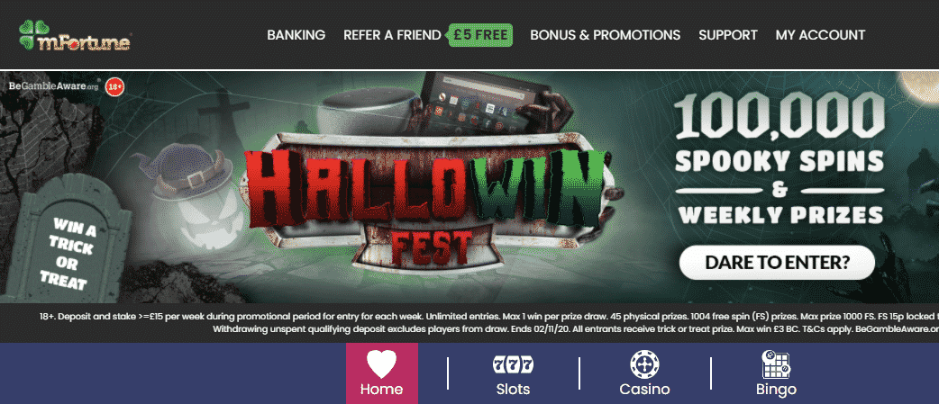 Casino rewards free spins 2020